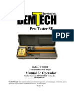 Pro-tester Se Tensiometro Spanish