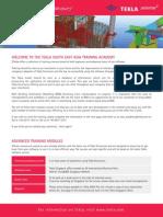 Tekla 2pp Modular Courses Leaflet
