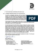 Investigation Regarding Operator of the Texas Horse Park