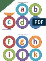 Omiduta Alfabet Color Litere Mici