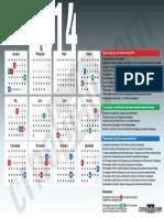 Kalendar Na Praznici Vo RM 2014