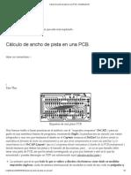 Cálculo de ancho de pista en una PCB. _ Simplificate 2