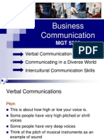 Business Communications (Lecture 5 )