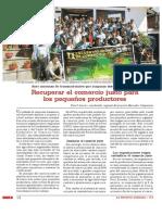 Recuperar el comercio justo para los pequeños productores