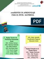 Ambientes de Aprendizaje Maternal Nov 20083