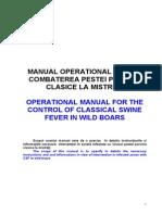 Manual Operational pestei porcine La Mistret