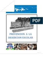 Prevencion a La Desercion Escolar Final222222222222222222222222