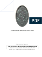 The Portsmouth Athenaeum Journal 2013