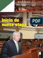 Boletín N° 13 Bancada Nacionalista Gana Perú