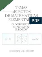 33635651 Temas Selectos de Matematicas Elementales
