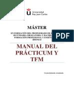 Manual Practicas Master Formacion Profesorado