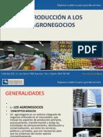 Clases de Agronegocios 2012-i