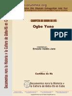 009 Carpetas Serie 1 Ogbe Yono