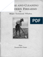 Care and Cleaning of Modern Firearms