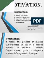 Motivation Presentation Skills