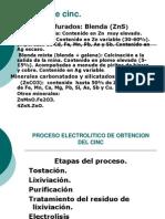 Proceso Del Zinc