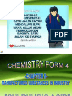 Chemistry Form 4