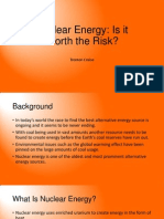 nuclear energy research presentation