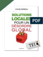 Coline Serreau Ed Solutii Locale Pentru o Dezordine Globala