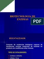 Clase 3 - Biotecnologia de Enzimas