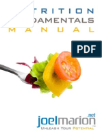 Nutrition Fundamentals Manual