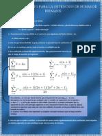 Desarrollo de Sumas de Riemann e Integral Por Sumas de Riemann