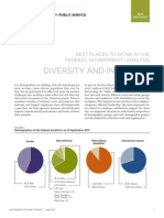 Best Places to Work Snapshot Diversity and Inclusion-[2013.07.10]