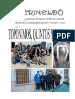 Gerineldo nº 15 2013