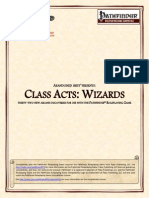 Abandoned Arts - Class Acts - Wizards