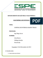Arias,Gallegos,Procel Control Por Triacs 2494