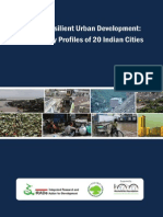 Climate Resilient Urban Development Vulnerability Profiles of 20 Indian Cities Executive Summary_RF_IRADe