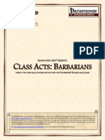 Abandoned Arts - Class Acts - Barbarians