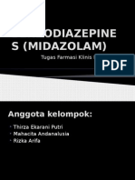 Benzodiazepines (Midazolam)