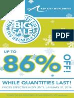 Winter Sales Flyer