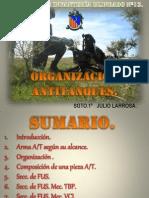 Organizaciones Anti-tanques del Ejército