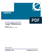 NN46200-706 01.01 FAULT Logs Reference