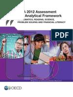 PISA 2012 Assesment and Analytical Framework
