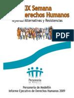 Informe DDHH 2009