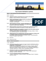 Planning of Power Distribution Systems(Swedish)