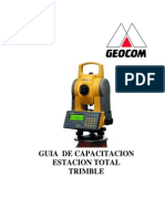 Trimble - GDM CU Manual Usuario - GEOCOM