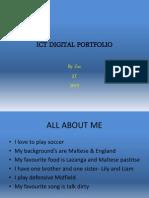 Ict Digital Portfolio