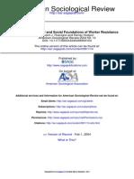 American Sociological Review 2004 Roscigno 14 39