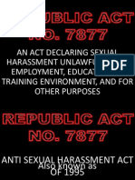 Anti - Sexual Harassment Act