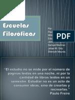nuevapresentacinescuelasfilosficas-110925222442-phpapp01