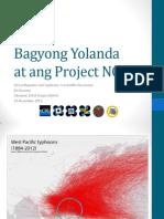 Bagyong Yolanda at Ang Project NOAH (Bernard Racoma - 2013-11-19 )