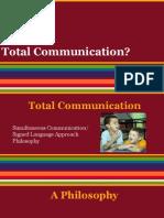 total communication presentation