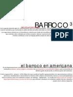 Barroco en America, Data 11