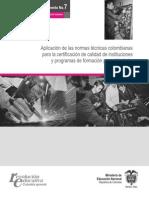 documento no 7 educacin para el trabajo y el desarrollo humano
