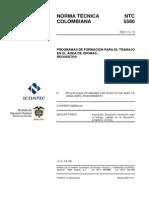 artculo 157089 programas de formacin para el trabajo  en el rea de idiomas ntc 5580