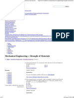 Strength of Materials - Mechanical Engineering Questions and Answers Page 9